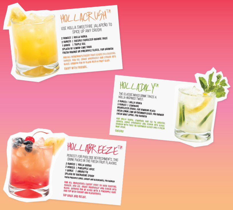 Cool Cocktails to HOLLA at This Summer