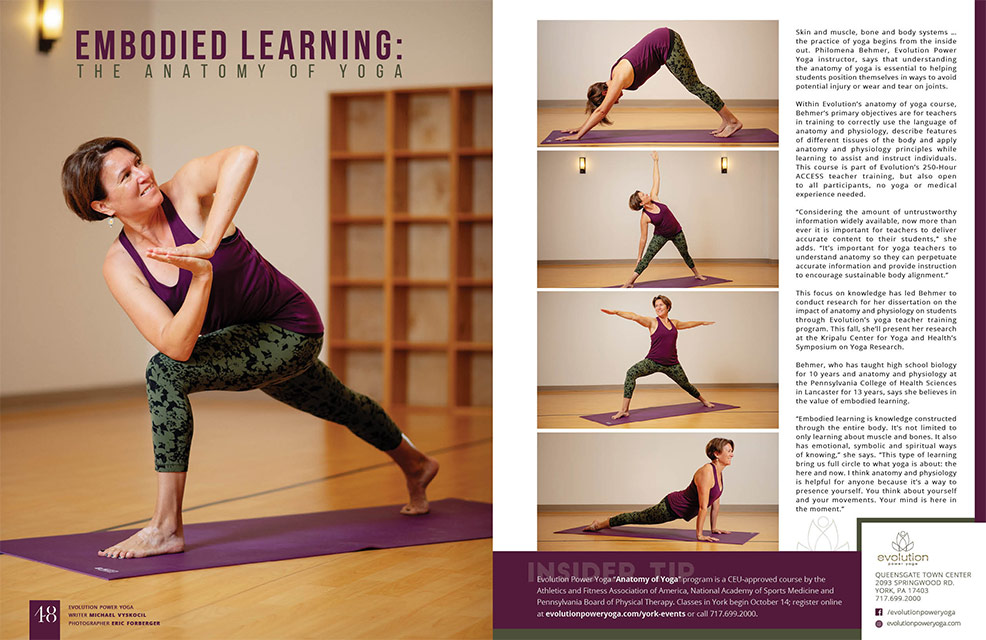 Embodied Learning The Anatomy Of Yoga Yrk Magazine