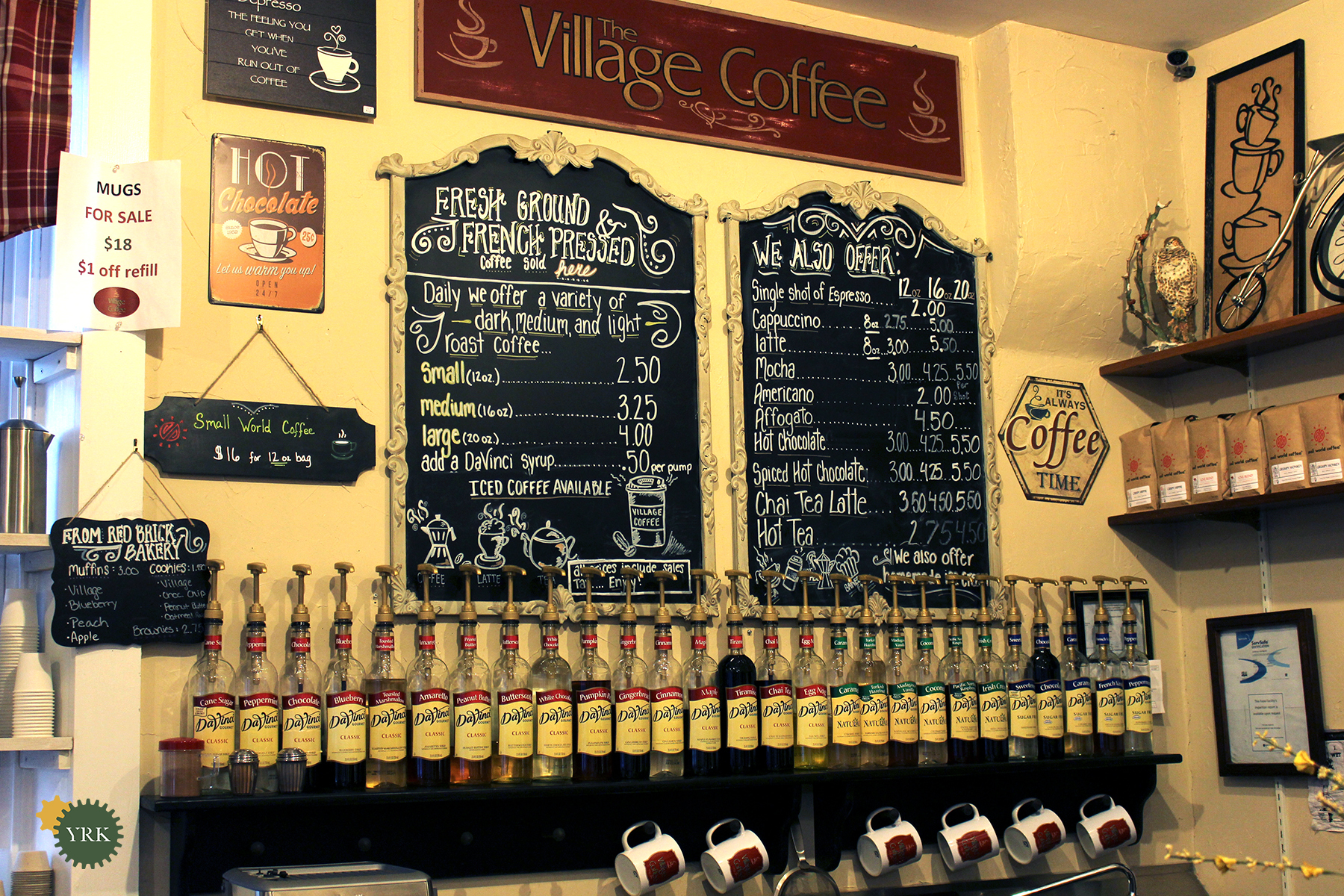 Working with the Community Through Caffeine and Ice Cream: The Village Coffee and Cream